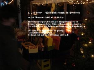 """4. """"in-door"""" - Weihnachtsmarkt"""