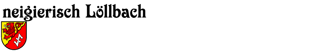 neigierisch Löllbach
