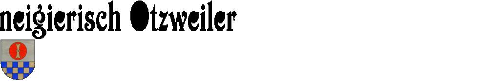 neigierisch Otzweiler