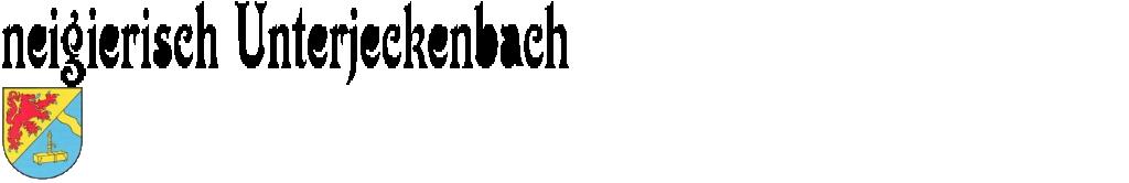 neigierisch Unterjeckenbach